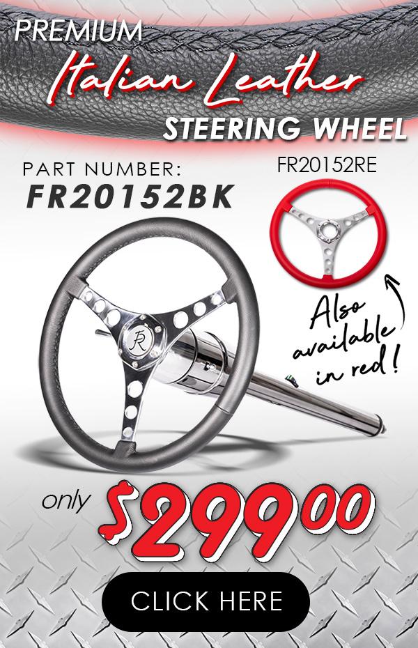 Leather Corvette Wheel